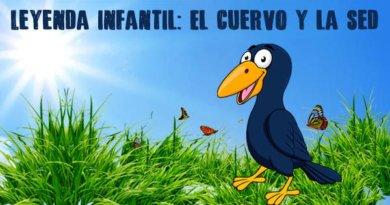 Leyenda para niños de primaria: El cuervo y la sed