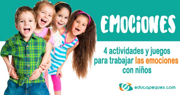 emociones básicas, las emociones en los niños