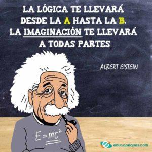 Frases Albert Einstein, Frases celebres, Frases educativas