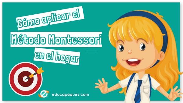 Método Montessori en el hogar