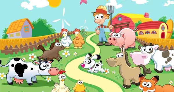 granja de la infancia, tríptico de la infancia