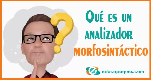 analizador morfosintactico