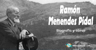 Ramón Menendez Pidal ▷ Vida y obras