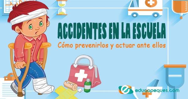 accidentes que pueden ocurrir en la escuela