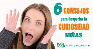 fomentar la curiosidad en la niñas