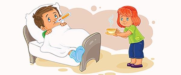 Causas del resfriado en niños y niñas