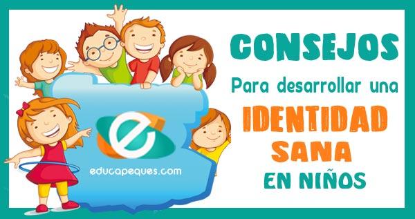 identidad niños