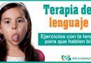 Ejercicios con la lengua. Terapia de lenguaje