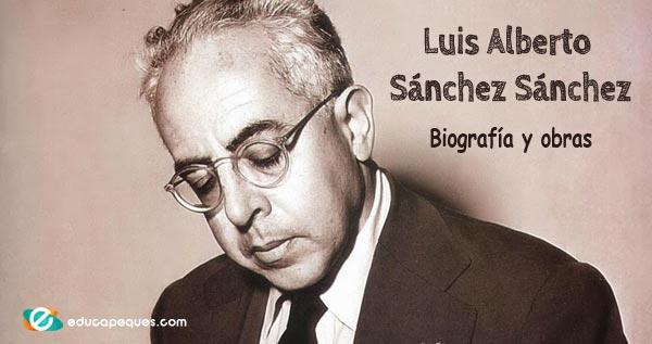 Resultado de imagen para Fotos de Luis Alberto Sánchez