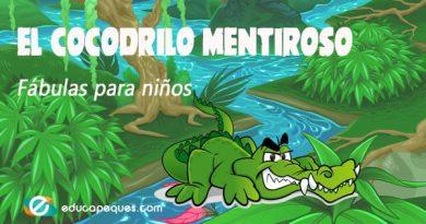 El cocodrilo mentiroso: Fábulas de animales