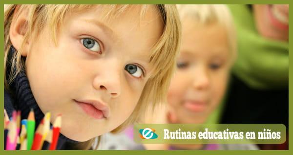rutinas educativas
