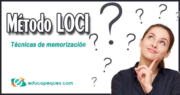 método Loci, técnicas de memorización