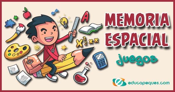 memoria espacial, juegos de memoria, juegos para mejorar la memoria