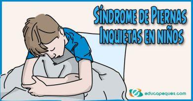 Síndrome de Piernas Inquietas en niños