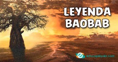 Leyenda de El Baobab ➤ El origen del árbol africano