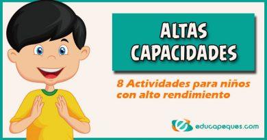 8 Actividades para niños con altas capacidades intelectuales
