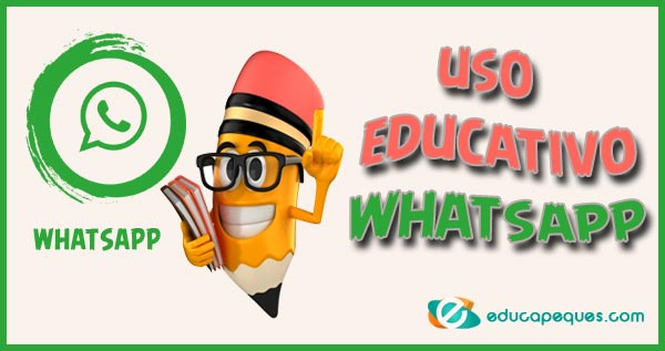 uso educativo whatsapp