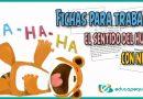 Fichas para trabajar el sentido del humor con niños de primaria