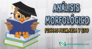 análisis morfológico ejercicios