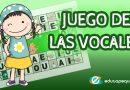 El juego de la oca de las vocales para niños