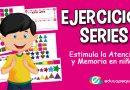 Series numéricas – Estimula la atención y concentración infantil