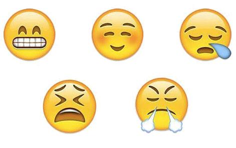 ejemplo de emoticones