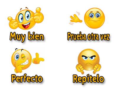 emojis juego separar palabras