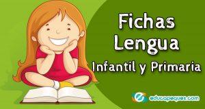 Fichas de lengua infantil y primaria