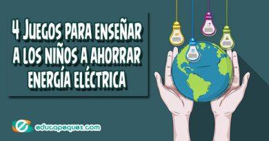 4 Juegos para enseñar a los niños a ahorrar energía eléctrica