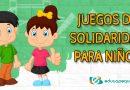 Juegos de solidaridad para niños