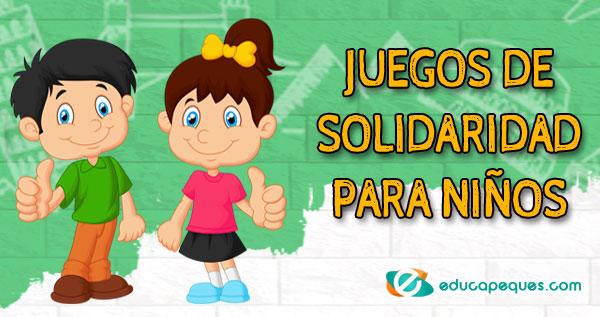 Juegos De Solidaridad Para Niños Recursos Educativos