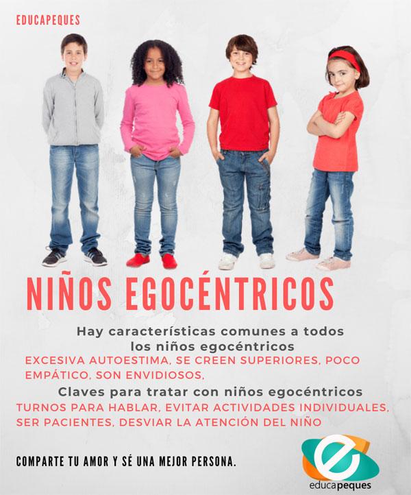 niños egocentricos