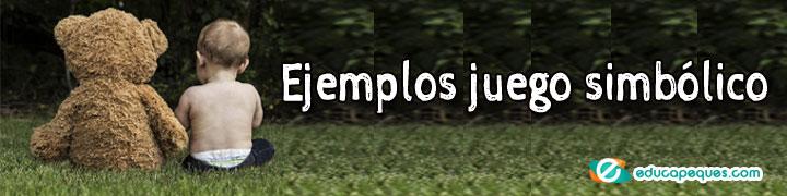 ejemplos juego simbólico