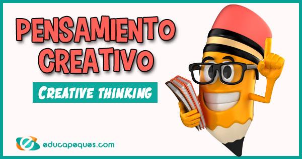 pensamiento creativo, creative thinking