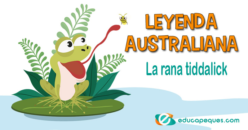 leyenda australiana, La rana tiddalick