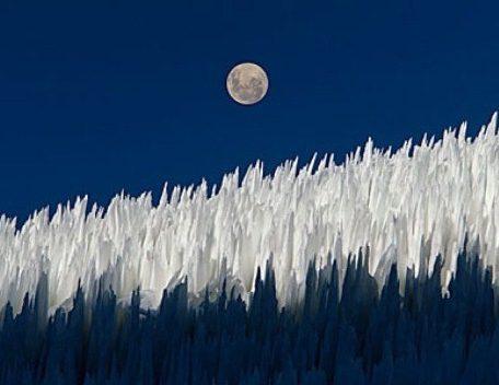 Penitentes de hielo, fenómenos naturales
