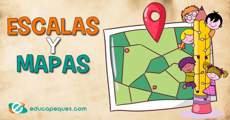 La Escala Del Mapa.Mapas Y Escalas Aprende A Utilizar La Escala En Los Mapas