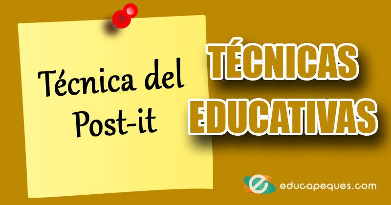 técnica del post it