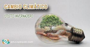 cambio climático, efecto invernadero