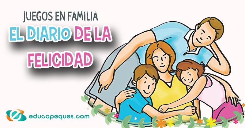 diario de la felicidad, juegos en familia