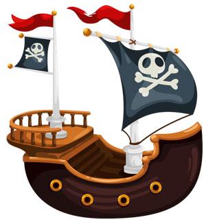 juego barco pirata