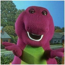 Barney, Por qué a los niños les gustan tanto los dinosaurios