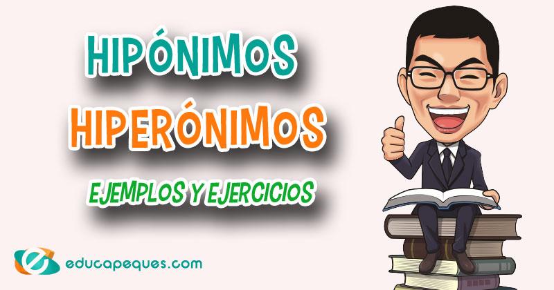 Hipónimos e hiperónimos
