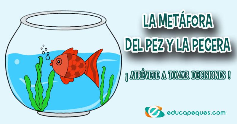 metáfora del pez en la pecera