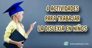 actividades para niños con dislexia