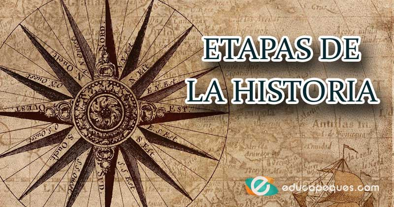 etapas de la historia