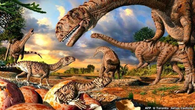 Tamaño del Tiranosaurio Rex