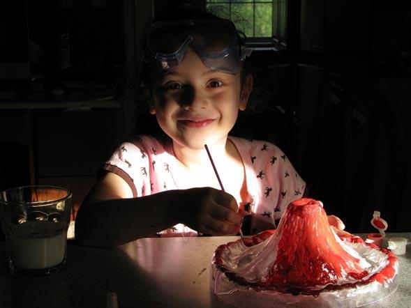 Experimentos divertidos de ciencia para casa con niños