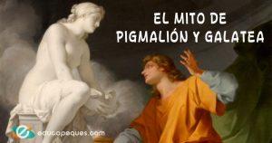 mito de Pigmalión y Galatea