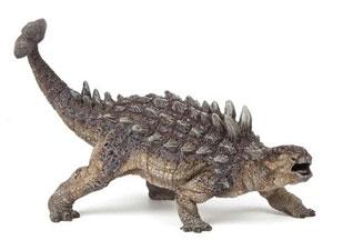 Dinosaurios con cuernos y crestas: Ankylosaurus